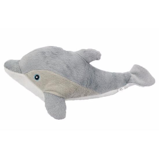 46022ae9808ba4 Pluche grijze dolfijn knuffel 34 cm voor maar € 8.95 bij Viavoordeel